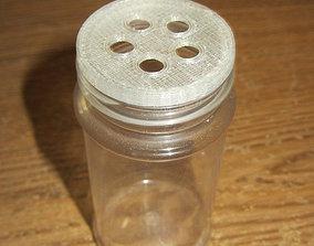 Spice jar cap with holes 3D print model