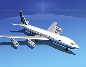 Boeing 707 Corporate 7 3D