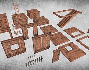 Survival Wood Crafting Kit 3D model