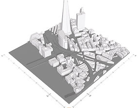 Free 3D Model of London - Sample of AccuCities Base 3