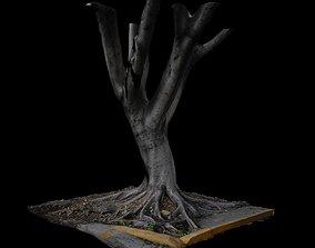 3D model Ficus forest