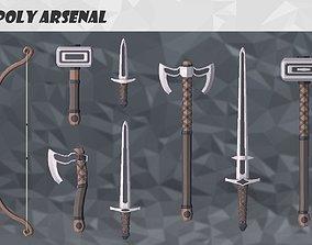Low Poly Arsenal - Iron 3D asset