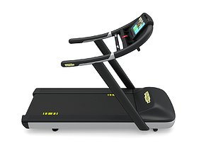 Technogym Excite Run 600 Treadmill 3D model