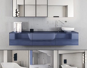 3D Bathroom furniture set Panta Rel 4