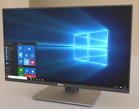 Dell 24 inches Monitor 3D model