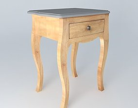 MONTAIGNE bedside houses the world 3D model