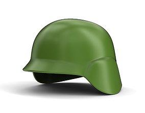 Military helmet 3D printable model