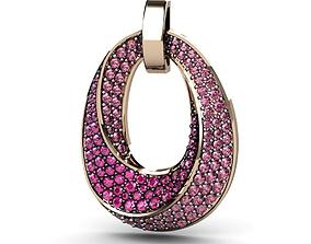 pendants cocktail gems 3D printable model