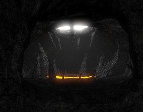 Cavern 3D asset