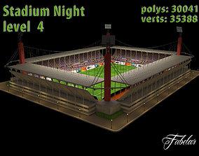 3D model Stadium Level 4 Night