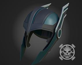 Thor Ragnarok helmet for 3D-printing diy