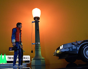 Street Light Bttf Did3D 1-8 Scale 3D Print marty