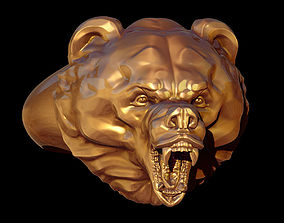 3D print model Ring bear