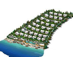3D model turkey south homes
