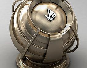 3D VRAY SHADER---METAL---Californium