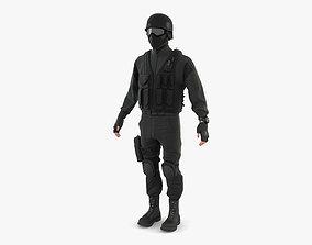 3D SWAT Policeman
