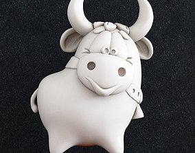 3D print model Bull 2021 toon