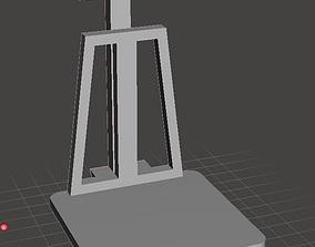Detailed heavy weighbridge 3D print model