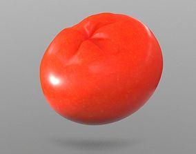 Tomato 3D model low-poly tomato