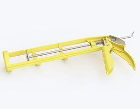 3D model Caulking gun