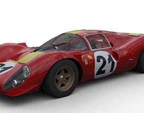 Ferrari 330 P4 3D asset
