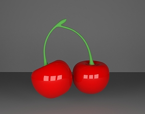 fruit 3D Cherry