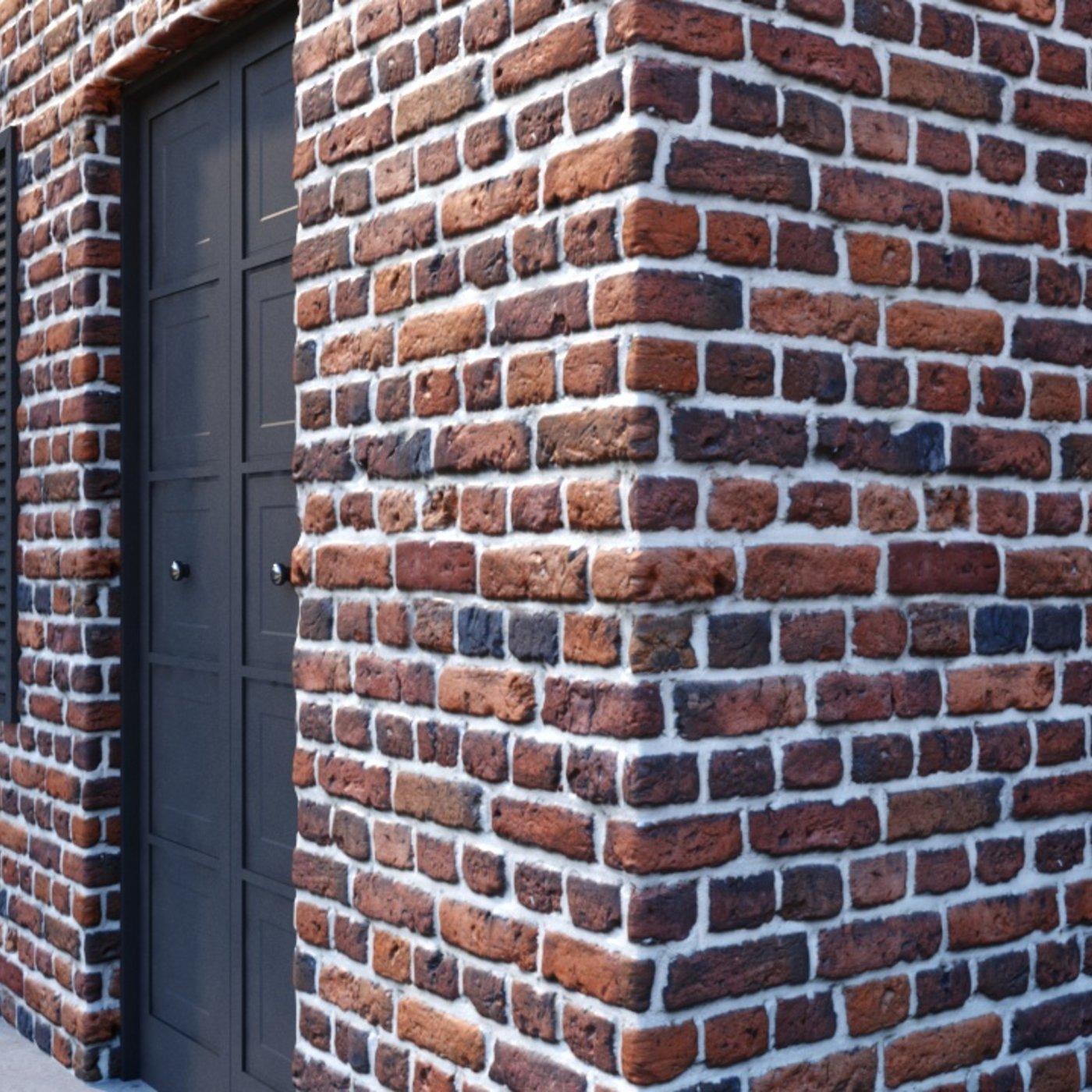 Material Bricks 001 C4D