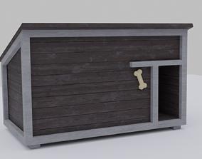 3D model realtime Dog House