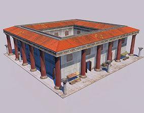 3D model Greek classic house