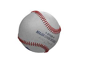 3D sport Baseball ball