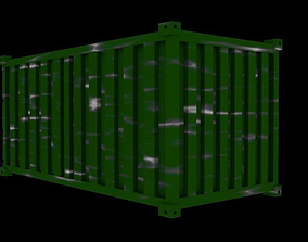 3D model Container for ships