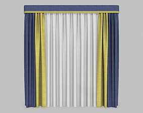 Curtains 11 3d model PBR