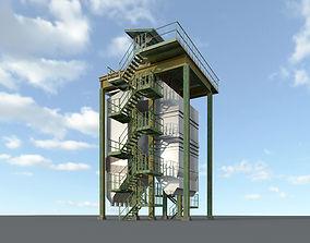 3D model Steam recovery boiler