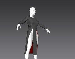 3D model Clothes for Marvelous Designer Shirt02