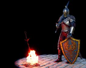 3D print model Faraam Knight armor from Dark Souls