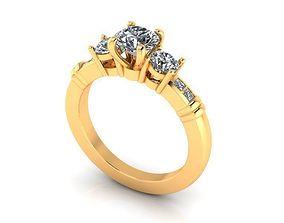 3D printable model Wedding Ring R012