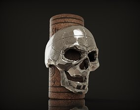 Ring Skull from Silver street collection 3D print