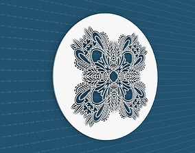 3D decor Mandala