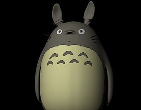 Totoro 3D Model hayao low-poly