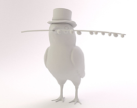 3D printable model Easter Chicken