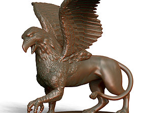 3D printable model Griffon