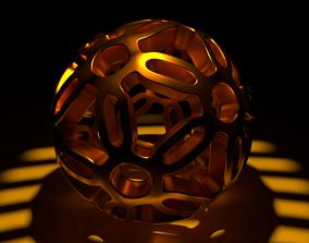 Spherical Pattern Symmetry 3D model
