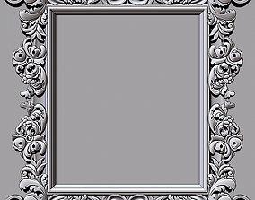 Mirror frame 3d - CNC machine - 3D CNC printed file