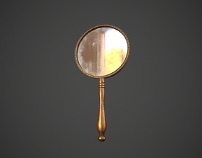 3D asset Dirty Hand Mirror