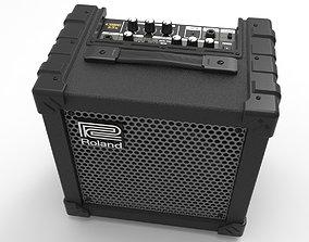 3D Roland x15 CUBE amplifier