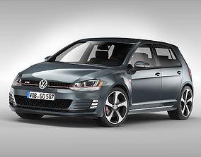 Volkswagen Golf GTI 2013 - 2017 3D