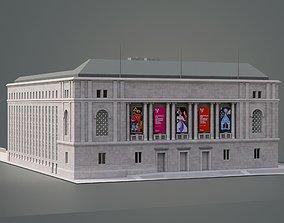 Asian Art Museum San Francisco 3D