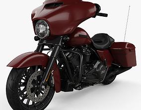 3D Harley-Davidson Street Glide Special 2018