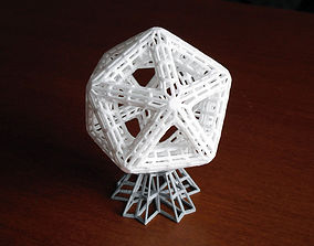 Support for Icosahedron Sculpture 3D print model