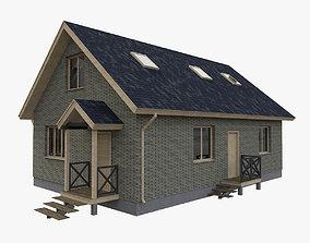 3D European Simple House